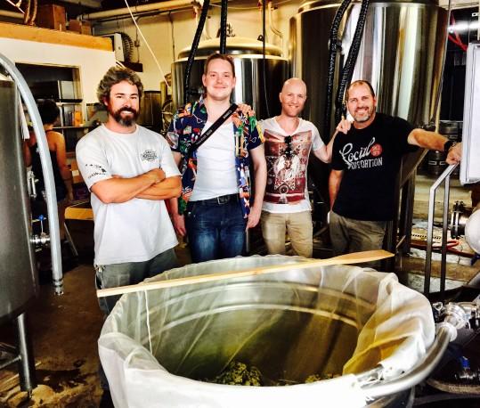 Poha Berry Dark Saison At Honolulu Beerworks